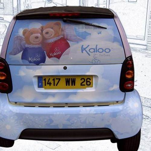 Total covering sur voiture Smart pour Kaloo