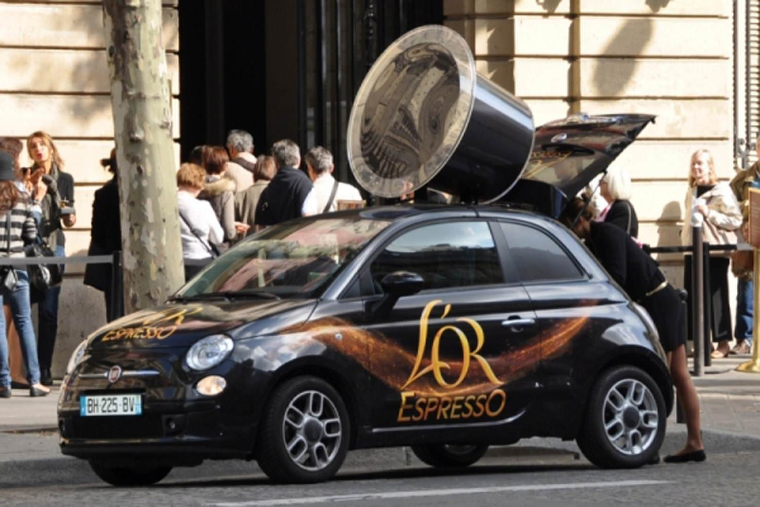 Total covering sur fiat 500
