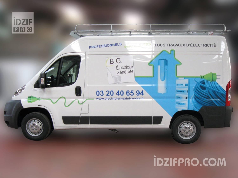 iDzif Pro , Marquage sticker utilitaire