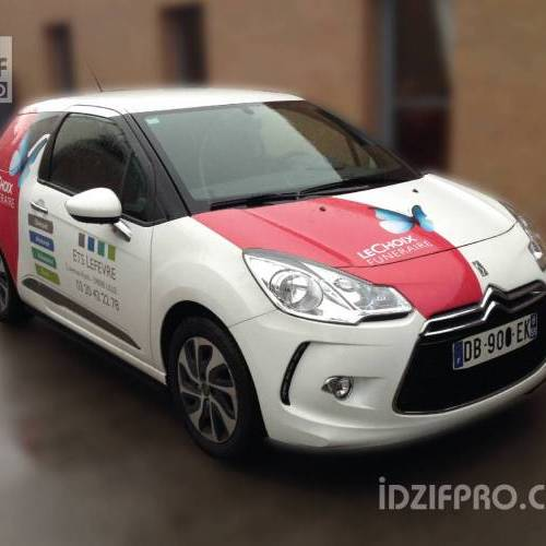 Semi covering Citroën DS3