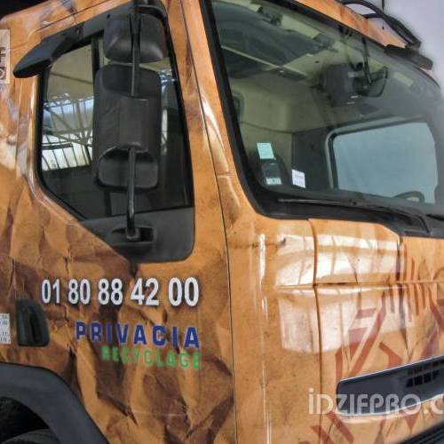 Total covering sur camion benne