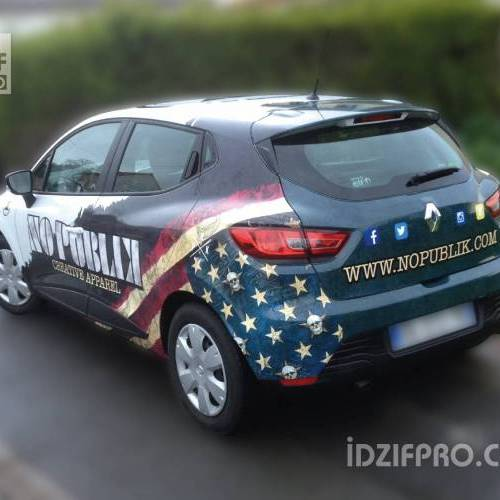 Semi covering sur renault clio