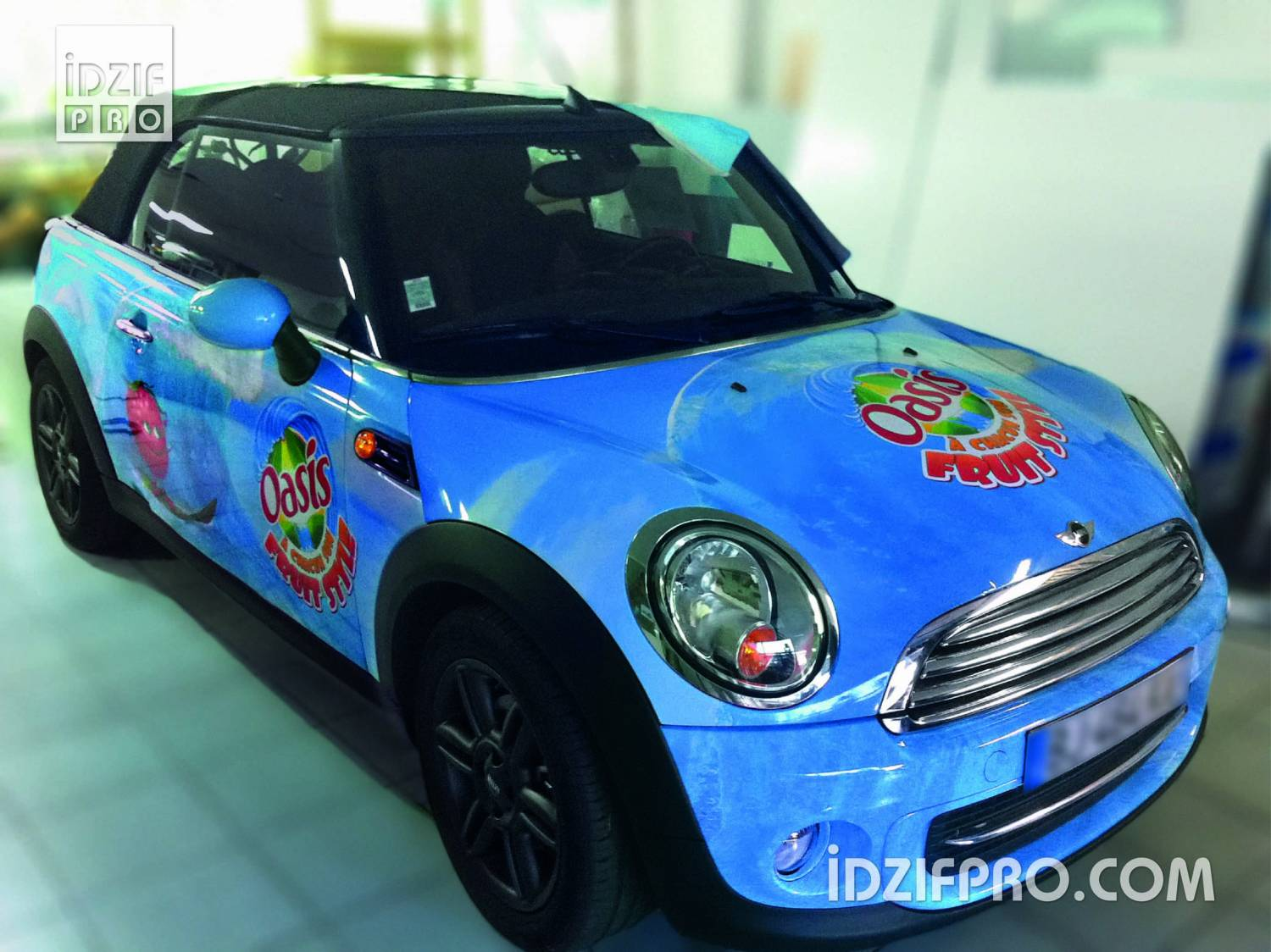 Total covering sur mini cooper cabriolet