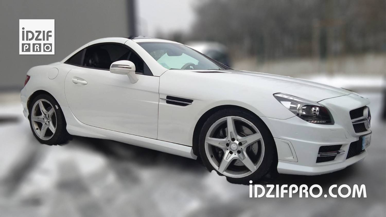 Wrapping Mercedes SLK