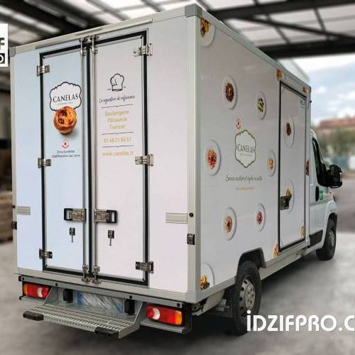 Total covering camion frigo