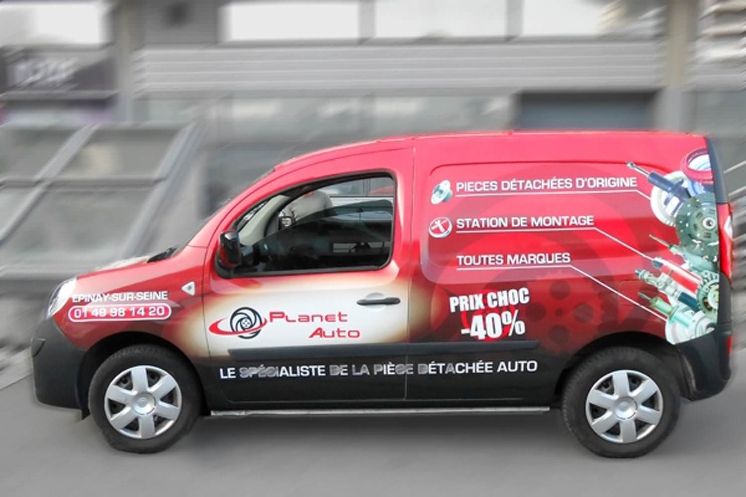 Total covering sur kangoo Renault