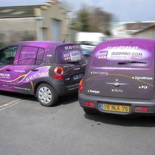 Total covering finition mat sur Chrysler PT Cruiser et sur Renault Modus