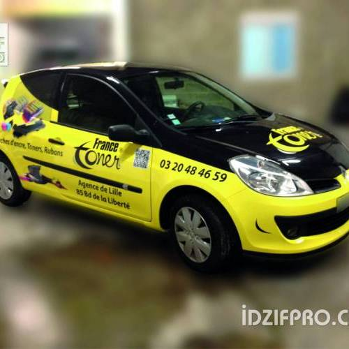 Covering sur renault clio