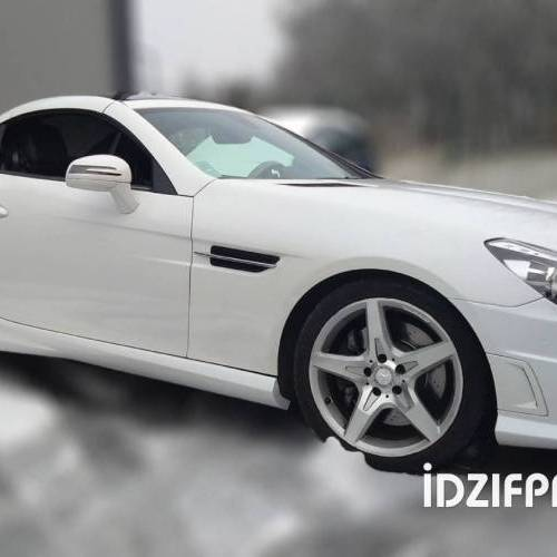 Wrapping sur Mercedes SLK 350