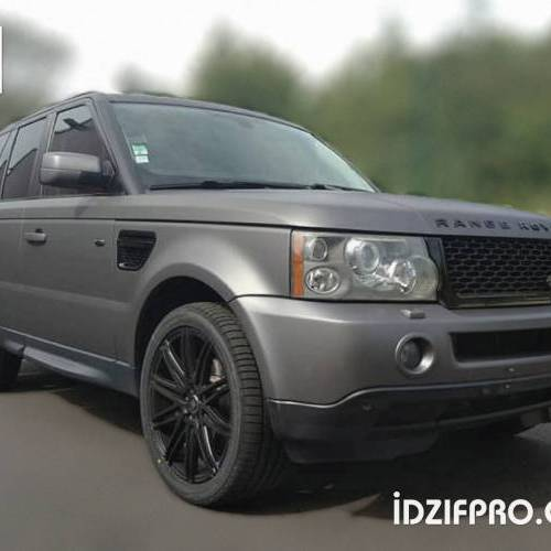 Wrapping sur Range Rover HSE Sport