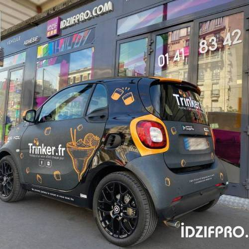 Total covering sur smart Fortwo